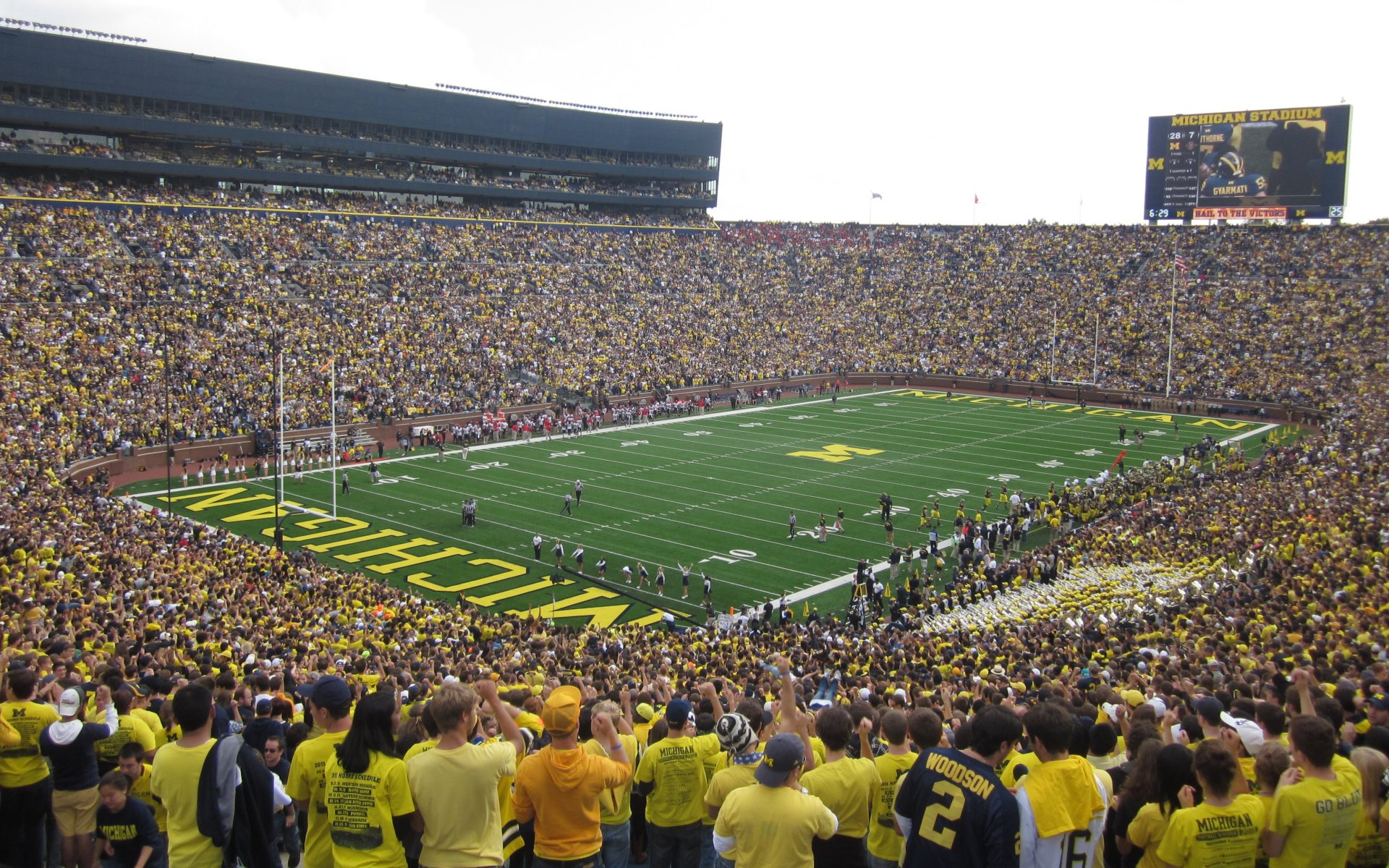 michigan football field wallpaper - photo #4