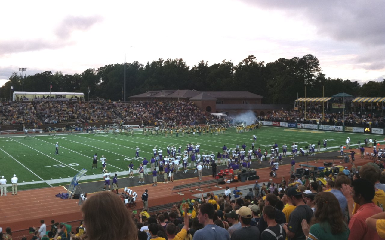 Colonial Athletic Conference College Football Stadiums