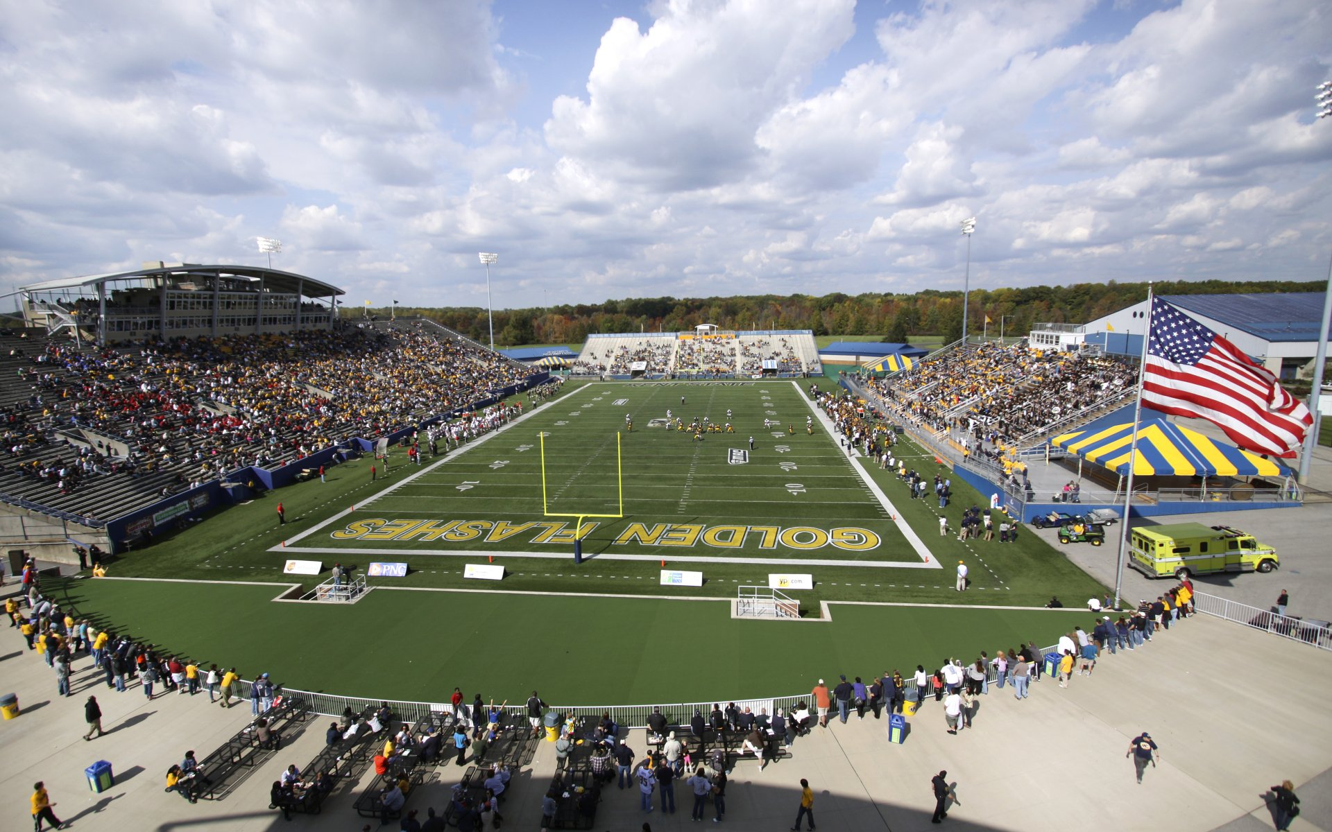 Mid American Conference College Football Stadiums Wallpapers