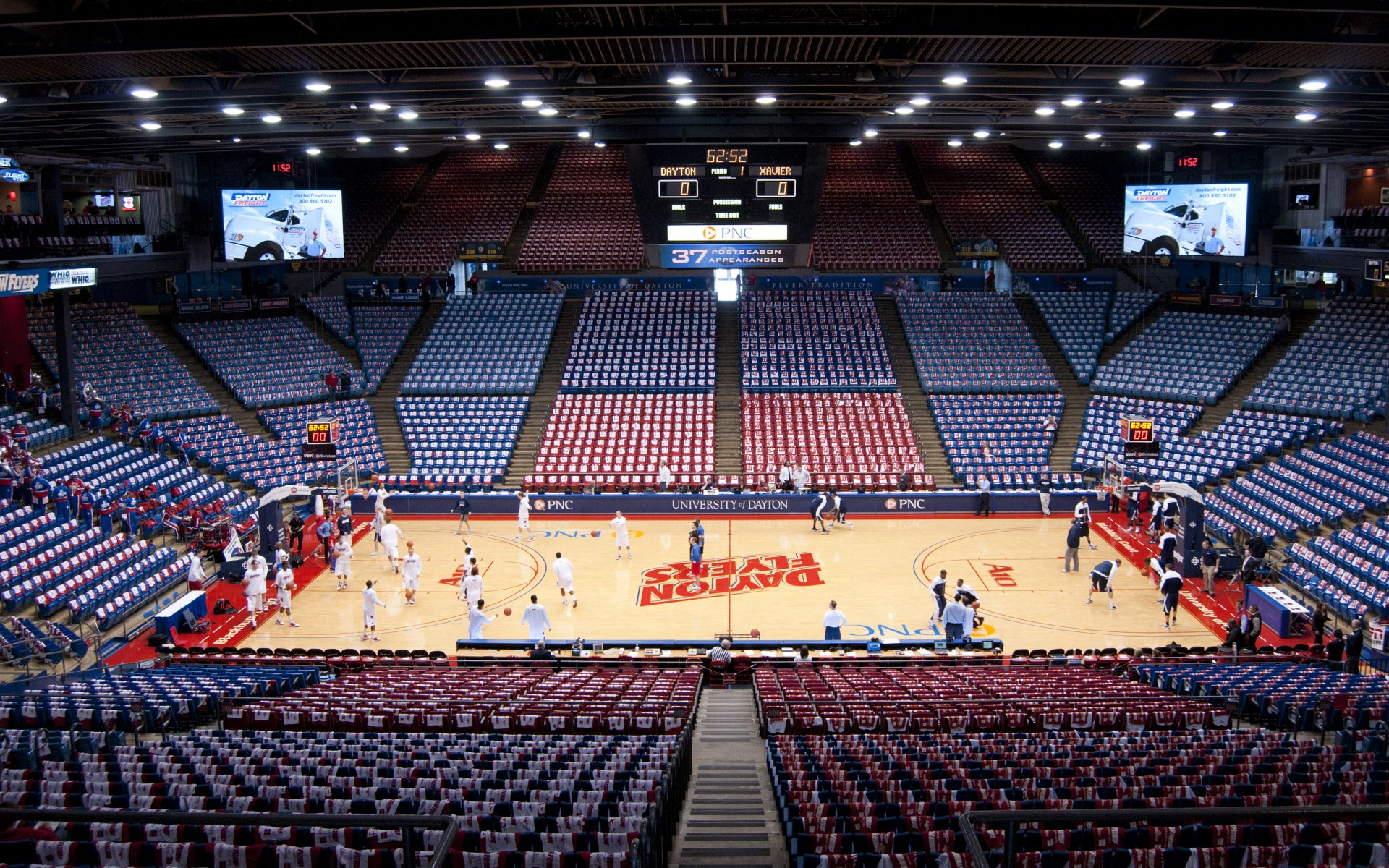 Atlantic 10 Conference College Basketball Arena Wallpapers