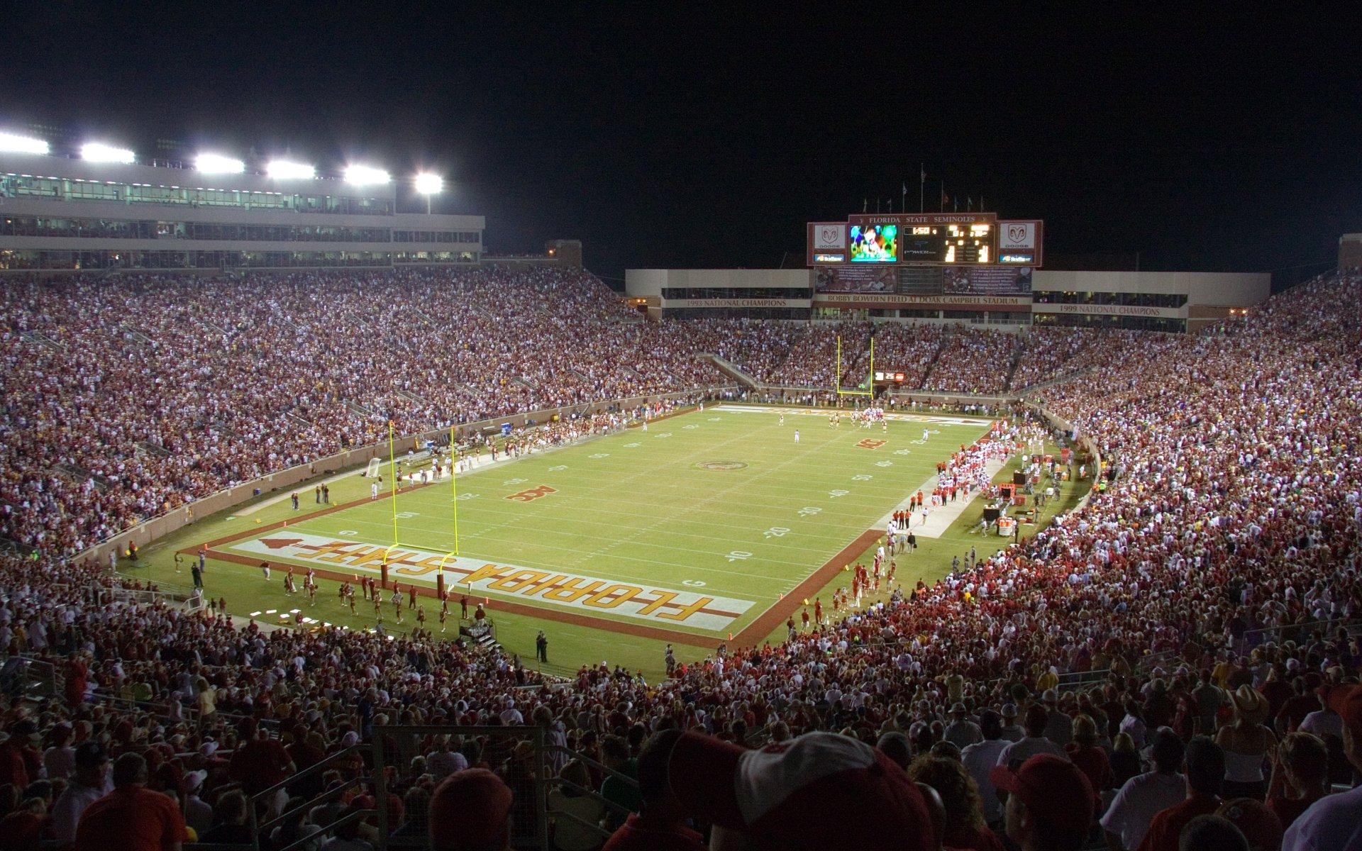 Florida State University Football >> Atlantic Coast Conference College Football Stadiums Wallpapers
