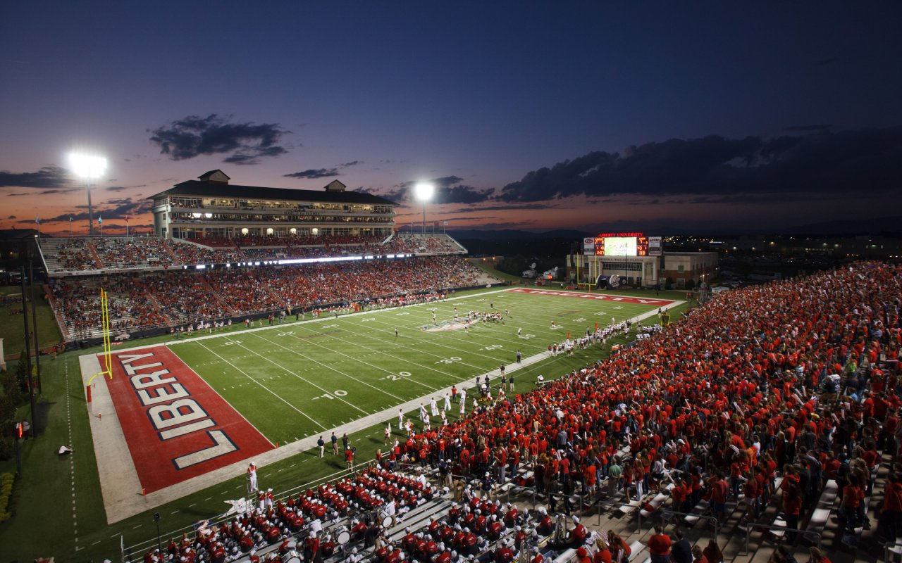 Big South Conference College Football Stadiums Wallpapers
