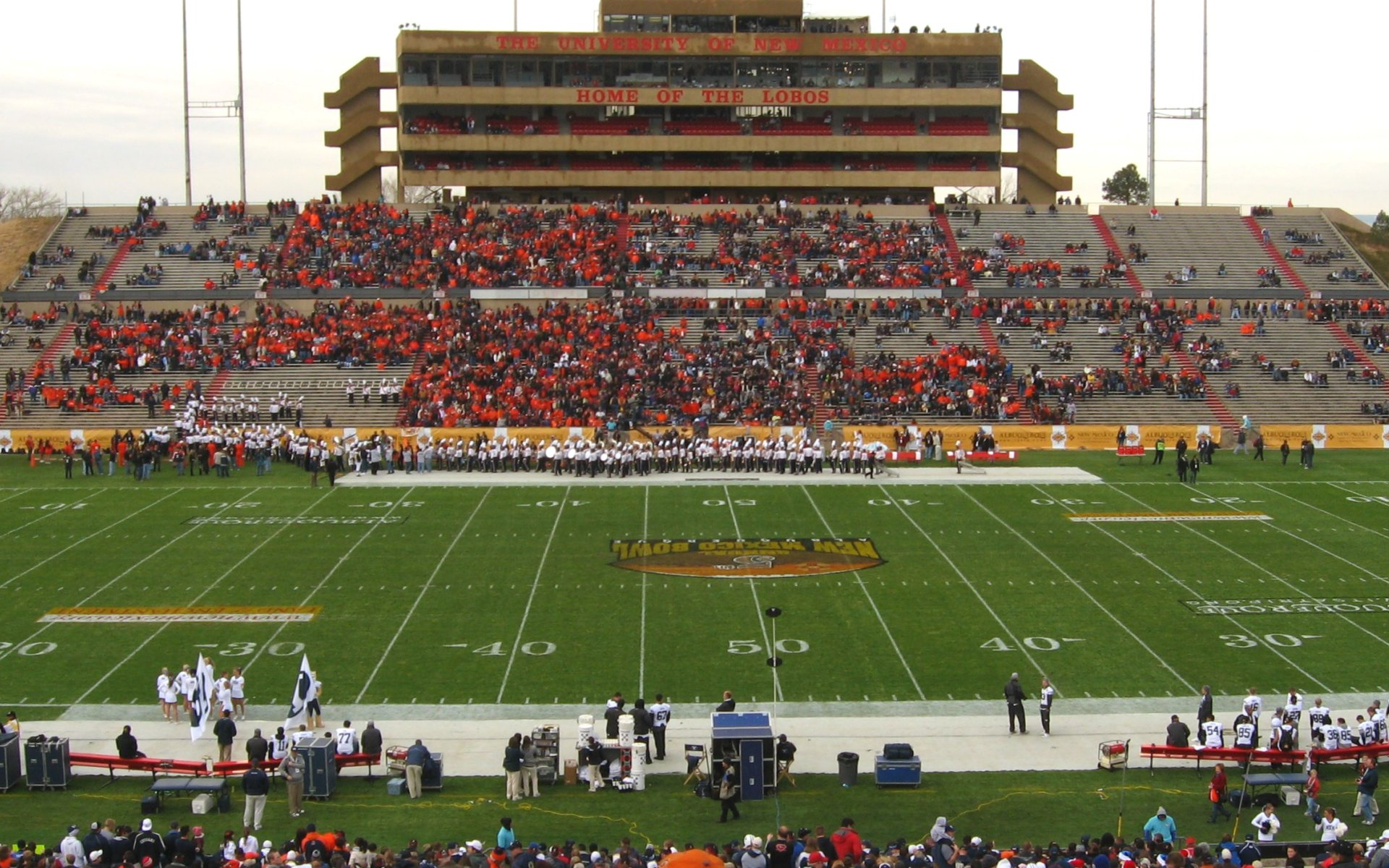 Mountain West Conference College Football Stadiums Wallpapers