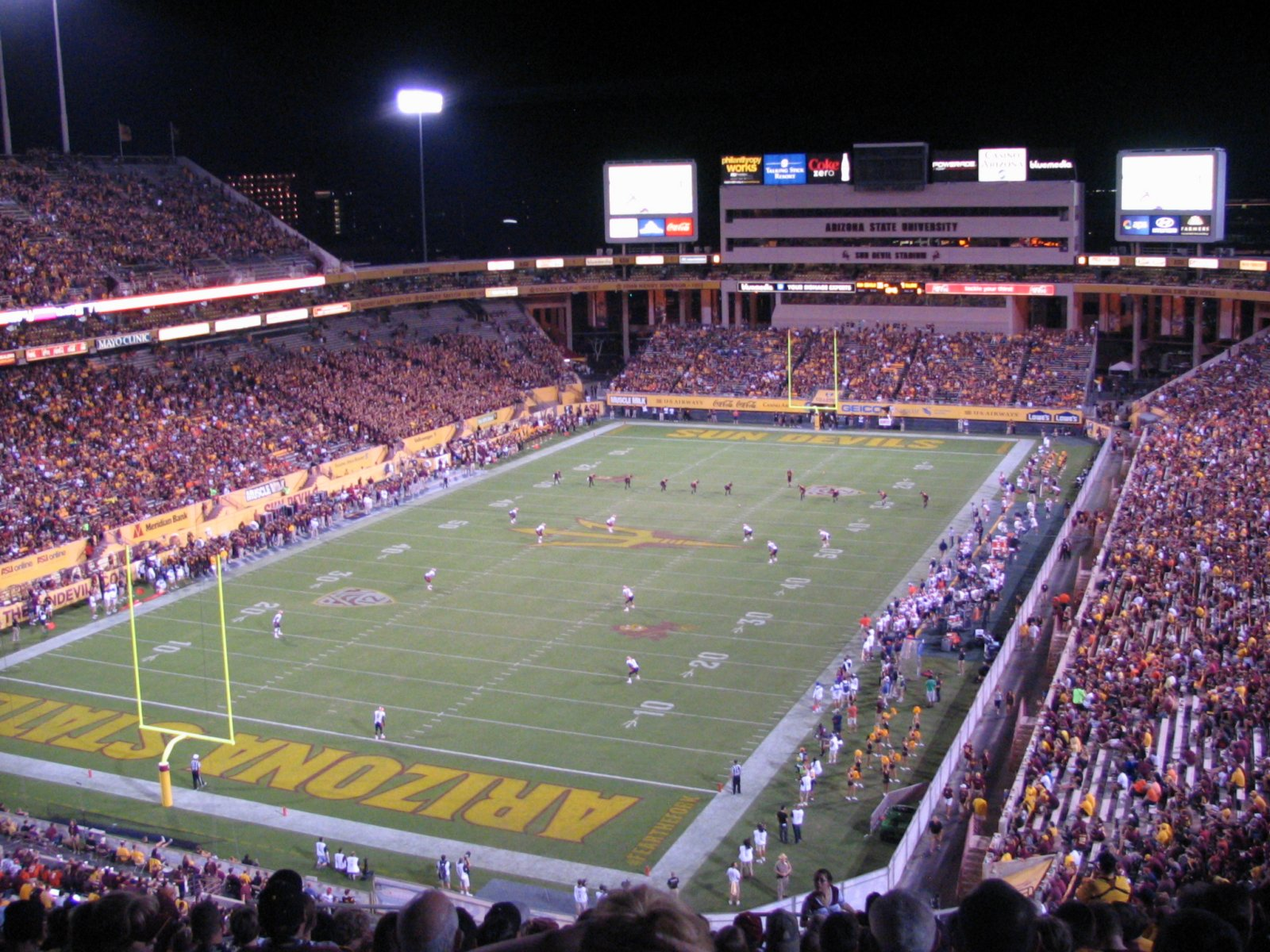 Canyon Vs Colorado >> Pacific 12 Conference College Football Stadiums Wallpapers