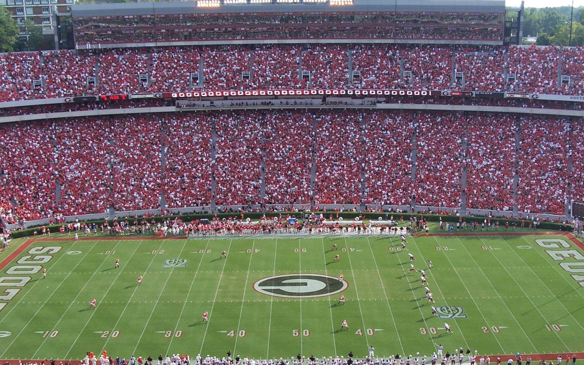 College Football Stadiums Wallpapers
